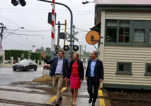 $260m to remove the Kooyong Station level crossing
