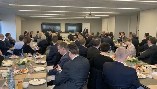 Addressing the Business Council of Australia