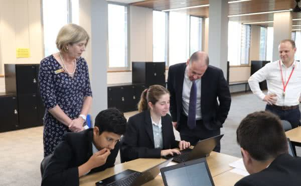 Launching the P-TECH site at Camberwell High School