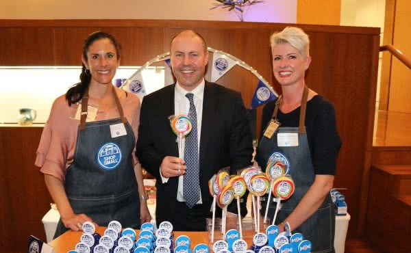 ShopSmall Showcase in Parliament House