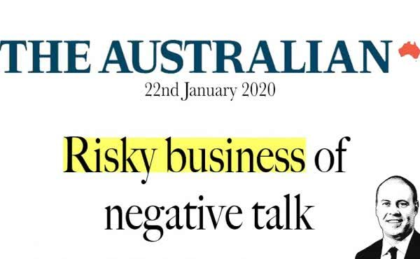 Risky Business of Negative Talk