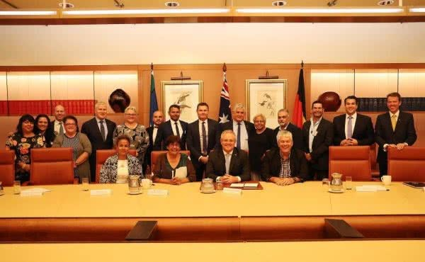 Meeting with the Coalition of Aboriginal & Torres Strait Islander Peak Organisations