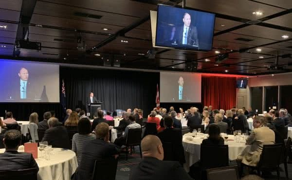 Speaking at the Australia-Canada Economic Leadership Forum