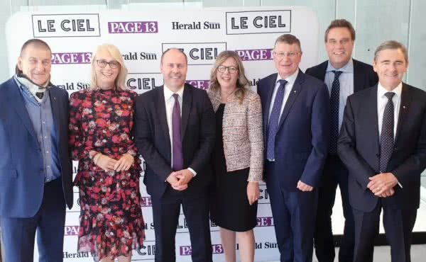 Speaking at the Herald Sun luncheon about the Future of Melbourne