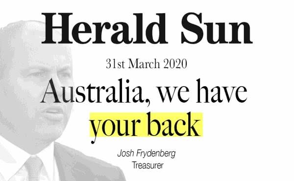 Australia, We Have Your Back