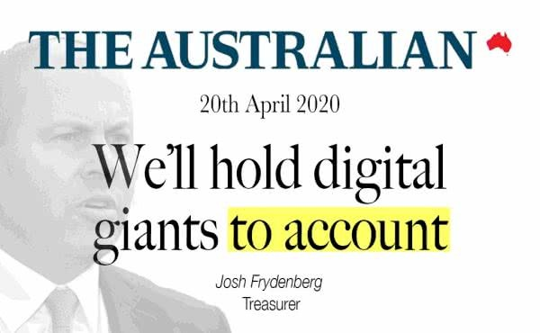 Here's News – We'll Hold Digital Giants to Account