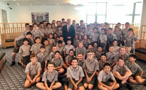Scotch College Visit Parliament