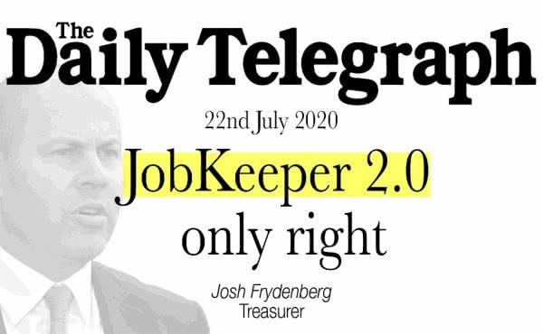 JobKeeper 2.0 only right