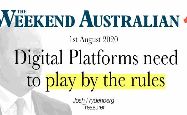 Digital platforms need to play by the rules