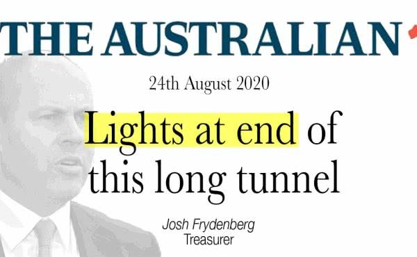 Lights at end of this long tunnel