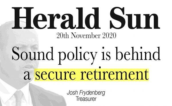 Sound policy is behind a secure retirement