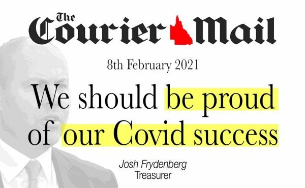 We should be proud of our COVID success