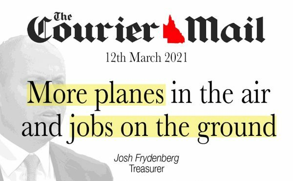 More planes in the air and jobs on the ground