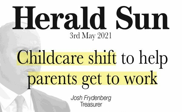 Childcare shift to help parents get to work