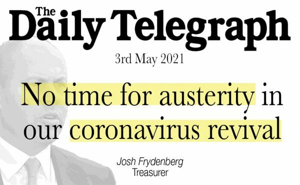 No time for austerity in our coronavirus revival