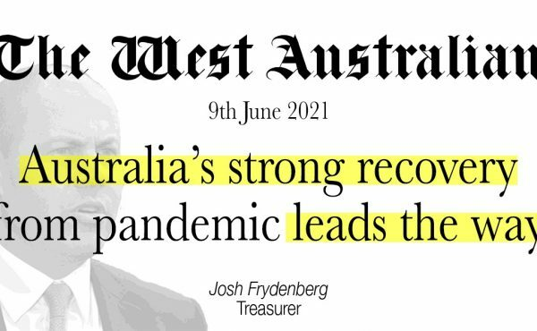 Australia's strong recovery from pandemic leads the way