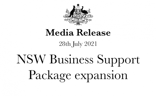 NSW Business Support Package expansion