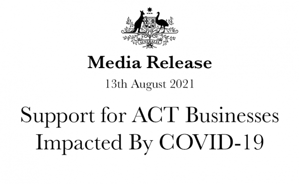 Support for ACT Businesses Impacted By COVID-19