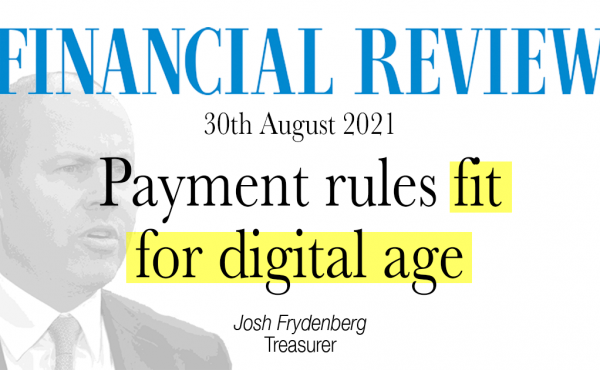 Payment rules fit for digital age