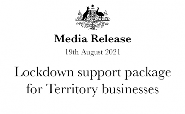 Lockdown support package for Territory businesses