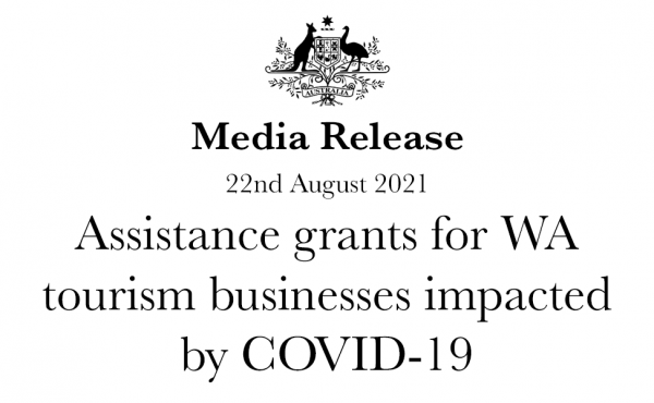 Assistance grants for WA tourism businesses impacted by COVID-19