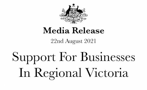 Support for businesses in regional Victoria