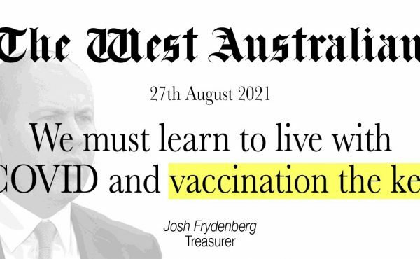 We must learn to live with COVID and vaccination the key