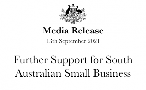 Further Support for South Australian Small Business