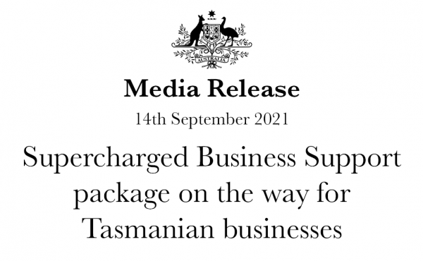 Supercharged Business Support package on the way for Tasmanian businesses