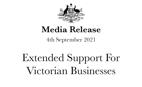 Extended Support For Victorian Businesses