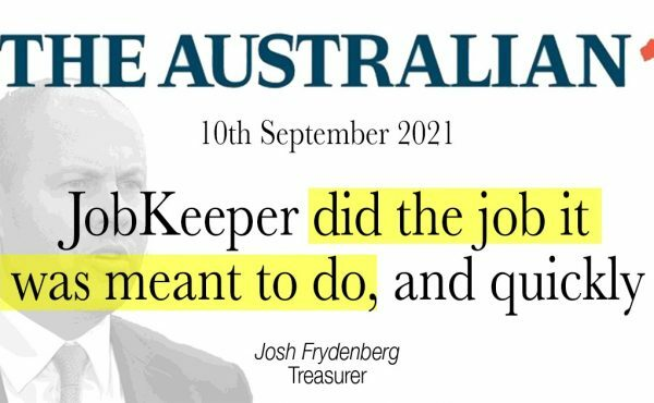 JobKeeper did the job it was meant to do, and quickly