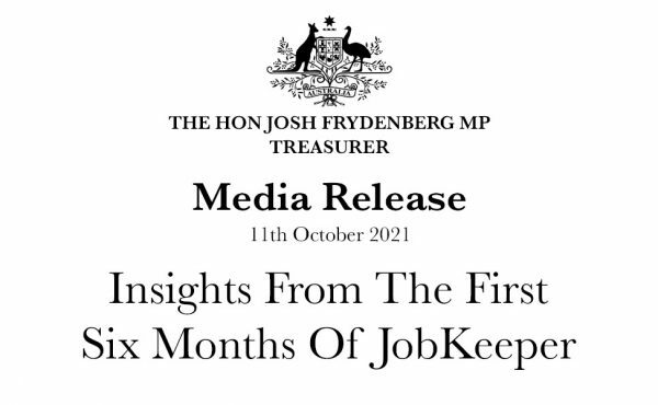 Insights from the first six months of JobKeeper